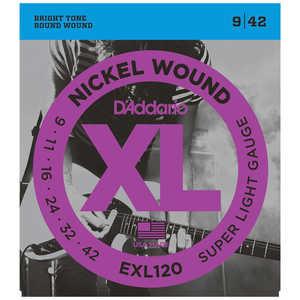 DADDARIO エレキギター弦 EXL120