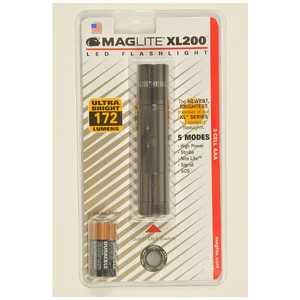 MAGLITE 懐中電灯 マグライトLED XL200 グレー [LED/単4乾電池×3] XL2003096