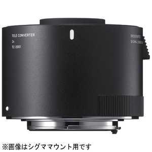 シグマ SIGMA TELE CONVERTER キヤノン用 TC2001テレコンバーター