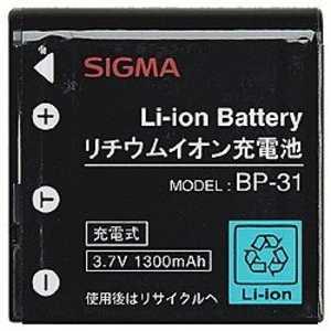シグマ Li-ionバッテリー BP31