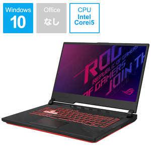 ASUS エイスース ゲーミングノートパソコン ROG Strix G15[15.6型/intel Core i5/SSD:512GB/メモリ:8GB/2020年7月モデル] I#O無#BK G512LII5G1650T