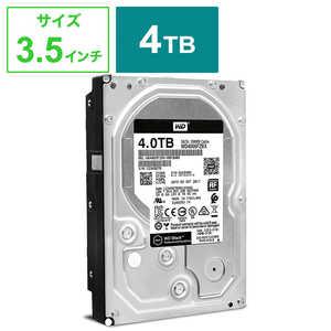 WESTERN DIGITAL 内蔵HDD [3.5インチ /4TB] WD4005FZBX