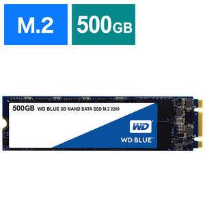 WD Blue 3D NAND SATA WDS500G2B0B 製品画像
