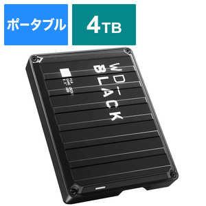 WESTERN DIGITAL 外付けHDD ゲーム用 WD_Black P10 Game Drive ブラック [ポータブル型 /4TB] WDBA3A0040BBKJESN