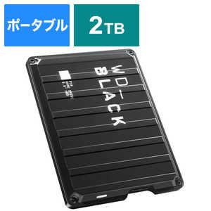 WESTERN DIGITAL 外付けHDD ゲーム用 WD_Black P10 Game Drive ブラック [ポータブル型 /2TB] WDBA2W0020BBKJESN