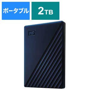 WESTERN DIGITAL 外付けHDD USB-C+USB-A接続 My Passport for Mac [ポータブル型 /2TB] WDBA2D0020BBLJESE