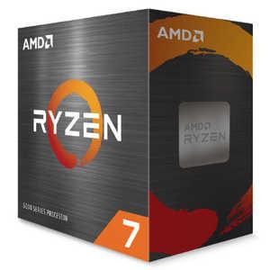 【CPUクーラー別売】AMD Ryzen 7 5800X W/O Cooler (8C/16T3.8GHz105W) 100100000063WOF