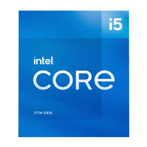 Core i5 11400 BOX 製品画像