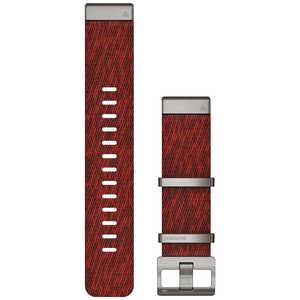 GARMIN MARQ QuickFit22mm ジャカード織ナイロンレッド レッド 0101273830