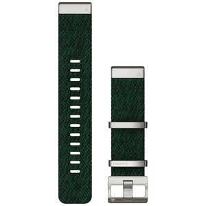 GARMIN MARQ QuickFit22mm ジャカード織ナイロングリーン グリーン 0101273832