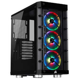 CORSAIR 強化ガラス採用 ATX対応 ミドルタワーPCケース 465X RGB Black CC9011188WW