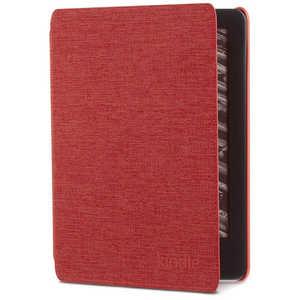 Amazon純正 Kindle(第10世代) 用 ファブリックカバー パンチレッド B07K8Q1R85