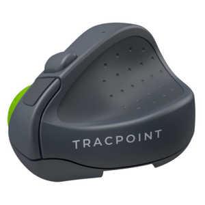 SWIFTPOINT マウス TRACPOINT グレー/ライムグリーン [Bluetooth・USB] グレー SM601