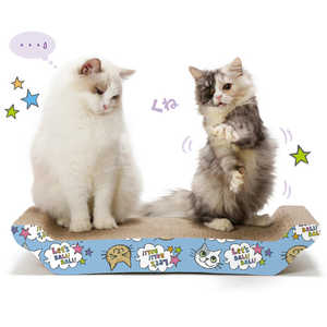 猫壱 バリバリ ベッド L猫柄 バリバリベッドLネコガラ