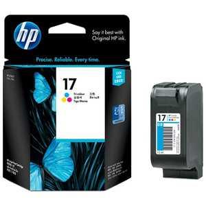 HP17 プリントカートリッジ (3色カラー) カラー C6625A