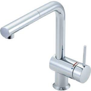 LIXIL キッチン用ワンホール水栓吐水口引出式eモダンLタイプ ヤマゼン SFE546SY