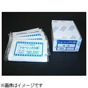 ホワイト写真用品 ショーレックス袋(4X5/100枚入/1パック) ショーレックスフクロ
