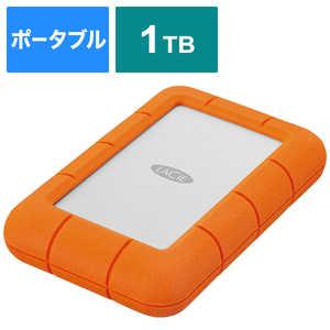 エレコム ELECOM 外付けHDD USB-A接続 Rugged Mini [ポータブル型/1TB] LAC301558