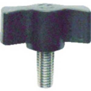 三星産業貿易 三星 キャンディノブボルト M6×15 黒 (5個入り) ドットコム専用 C3M6X15BK5P