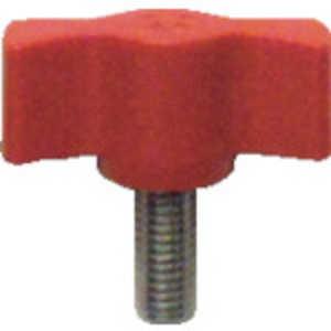 三星産業貿易 三星 キャンディノブボルト M6×15 赤 (5個入り) ドットコム専用 C3M6X15R5P