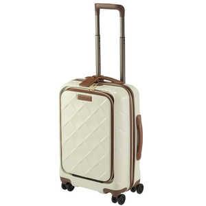 STRATIC スーツケース 33L レザー&モア ミルク H033ミルク 3997655