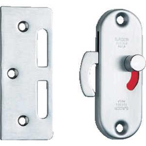 スガツネ工業 LAMP 引戸面付けカマ錠 室内側表示付 170074 ドットコム専用 HC85SS