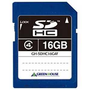 GH-SDHC16G4F [16GB]