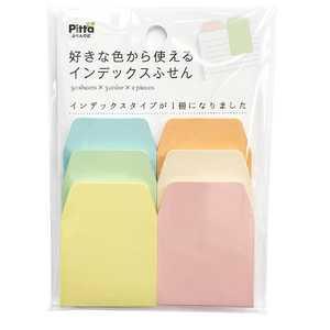 クラスタージャパン 好きな色からインデックスふせんパステル2 パステル2 CSIF04