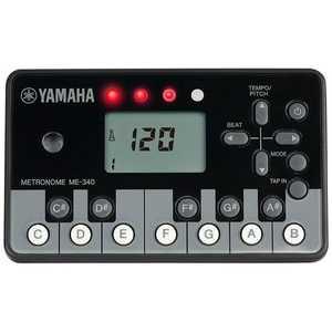 ヤマハ YAMAHA ヤマハミュージックジャパン 電子メトロノーム ピアノ ME340PF