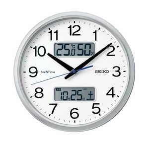 セイコー SEIKO 電波掛け時計 「ネクスタイム」 ZS251S