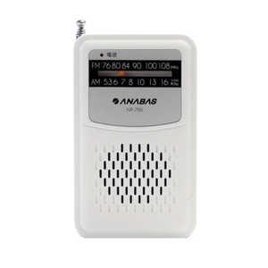 アナバス ポケットラジオ NR750