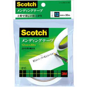 3Mジャパン メンディングテープ 12mmX30m 810312S