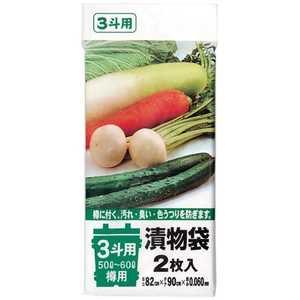 ジンカンパニー ポリエチレン 漬物樽用袋(2枚入) 0.5斗用(10~15L) ドットコム専用 ATK7301