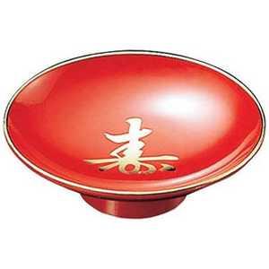 福井クラフト 3寸 盃 朱寿天金(ABS) 81011555 高足タイプ ドットコム専用 RFKL302