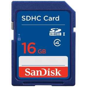 サンディスク SDHCメモリカード UHS-I [Class4対応/16GB] SDSDB016GJ35U