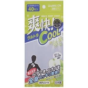 THT BDメンズ・ボディシート グリーンアップルの香り40枚 アップル40枚 BDメンズ・ボディシート40マイ
