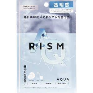 サンスマイル 【RISM(リズム)】ディープケアマスク アクア1枚 RISM(リズム) アクア1枚 RISMディープケアマスク