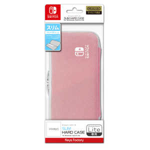 キーズファクトリー SLIM HARD CASE for Nintendo Switch Lite ペールピンク HSH-001-2 SLIMHARDCASEforN