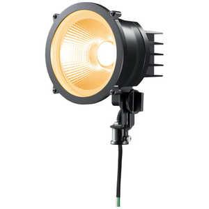 岩崎電気 LEDioc FLOOD POP (レディオック フラッド ポップ) 丸形タイプ 中角タイプ 電球色 E30011MLSAN9BK