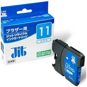 ジット 互換リサイクルインク カートリッジ シアン JITKB11C