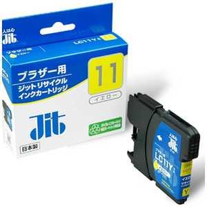 ジット 互換リサイクルインク カートリッジ イエロー JITKB11Y