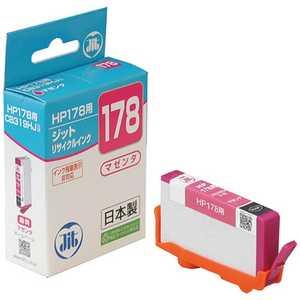 ジット 互換リサイクルインク カートリッジ マゼンダ JITH178M