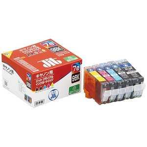 ジット 互換リサイクルインク カートリッジ 5色セット JITKC07E9B5P