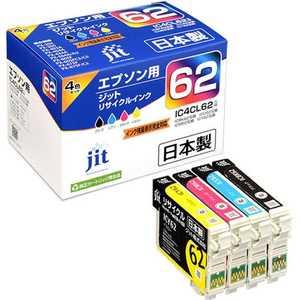 ジット 互換リサイクルインク カートリッジ 4色セット JITKE624P