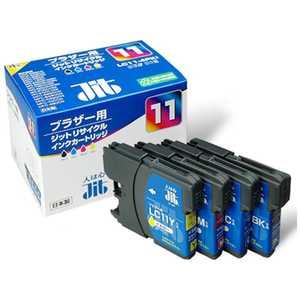 ジット 互換リサイクルインク カートリッジ 4色セット JITKB114P