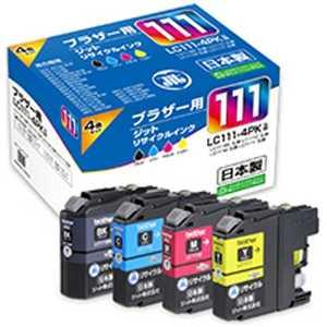 ジット 互換リサイクルインク カートリッジ 4色セット JITB1114P