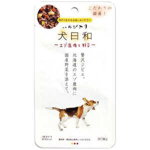 犬日和 レトルト エゾ鹿肉と野菜 60g