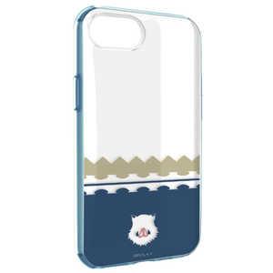 グルマンディーズ 鬼滅の刃 IIII fit Clear iPhoneSE(第二世代)/8/7/6s/6対応ケース 嘴平 伊之助 KMY12D