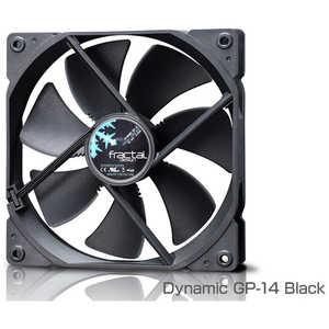 FRACTALDESIGN ケースファン[140mm/1000RPM] Fractal Design Dynamic ブラック FDFANDYNGP14BK