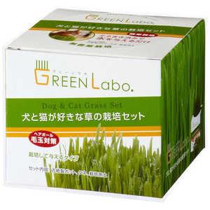 エイムクリエイツ GLDog &CatGrassSet犬と猫が好きな草栽培セット イヌトネコガスキナクササイバイセット